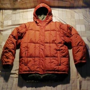 Private Member down & feathers filled jacket L